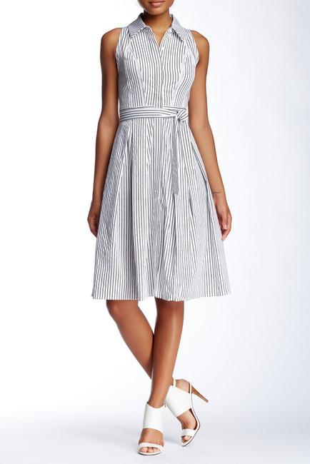 Julia Jordan pinstripe dress