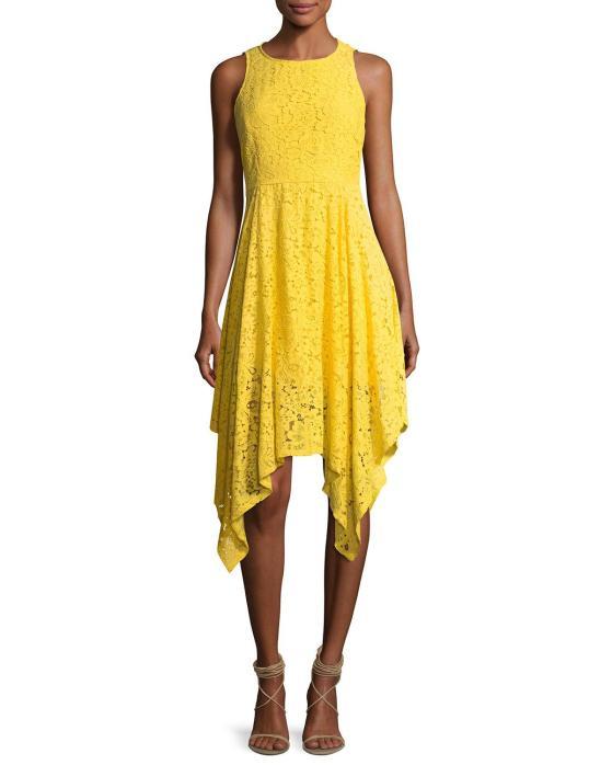 Nanette lepore yellow dress
