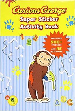 curious george sticker book