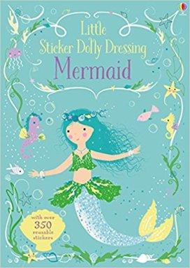 mermaid sticker book