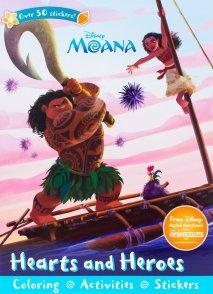 Moana sticker book