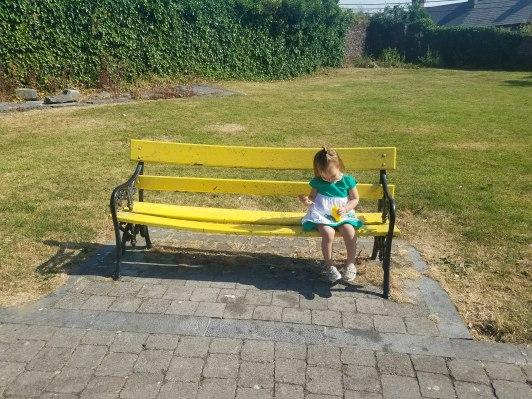 Sabrina Bubbles bench